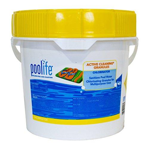 Chlor Granules (POOLIFE Active Cleaning Granules, 25 lb.)