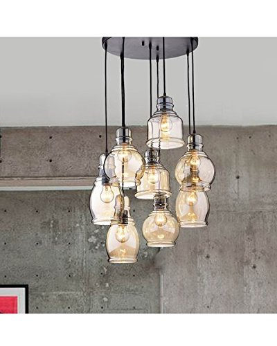 Cluster Glass Pendant Lighting