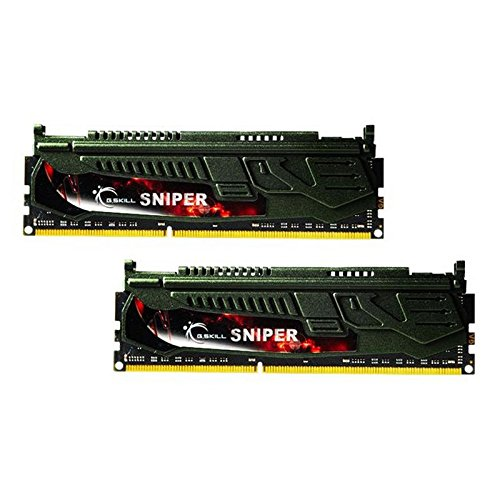 G.Skill 16GB (2 x 8GB) DDR3 PC3-14900 1866MHz Sniper Series (9-10-9-28) Dual Channel kit (F3-1866C9D-16GSR)