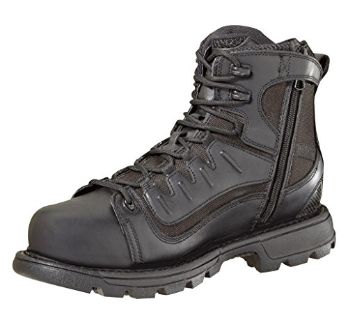 "Thorogood Men's 6"" Tactical Black Work Boot 4 M"