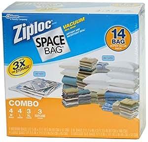 Amazon Com Ziploc Space Bag Vacuum Seal Bags 14 Bag