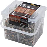 T.K.Excellent Wood Interior Construction Screw Drywall Screw Assortment Kit,465Pcs