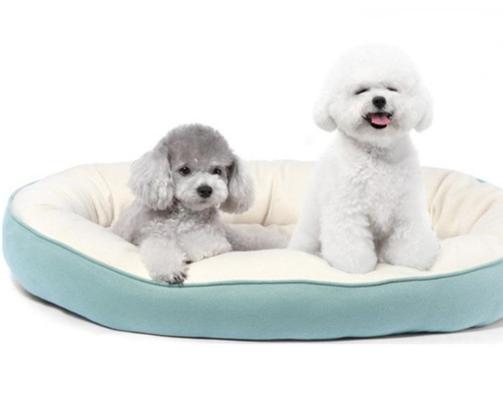 A L A L YunYilian Pet Bolster Dog Bed Comfort Kennel Dog Bed Double cat nest (color   A, Size   L)