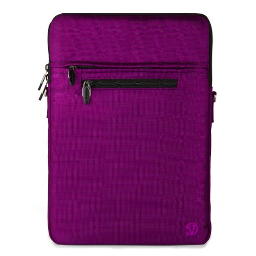 VanGoddy Hydei Shoulder Carrying Bag Sleeve for Lenovo 13.3 to 14 inch Laptops, Purple