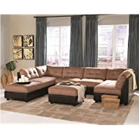 Claude Sectional in Two Tone by Coaster