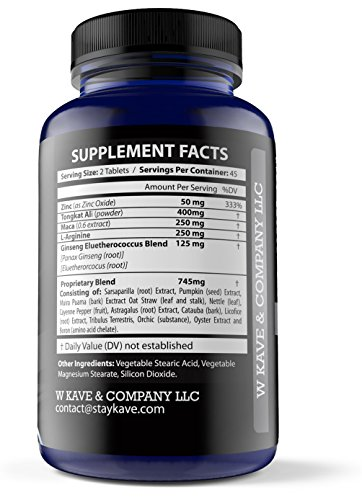Naked-King-Natural-Male-Enhancement-Pills-Libido-Enhancer-for-Longer-Lasting-Erections-Increase-Sex-Drive-Improve-Sexual-Health-and-Wellness-100-Natural-Made-in-USA-90-Pills