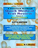 Concised Textbook Quick Medical Text Review : Surgical Sciences