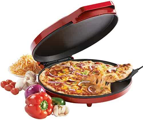 Betty Crocker BC-2958CR Pizza Maker, 1440 Watts, Red