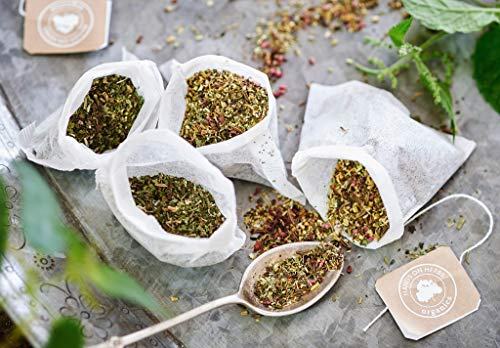 Hands on Herbs Organics Chamomile Tea Organic | Beautiful Chamomile Flowers Promote Stress Relief - Gluten Free - Sleep Aid - Rescue Remedy in a Cup - 25 individual tea bags (1 box)