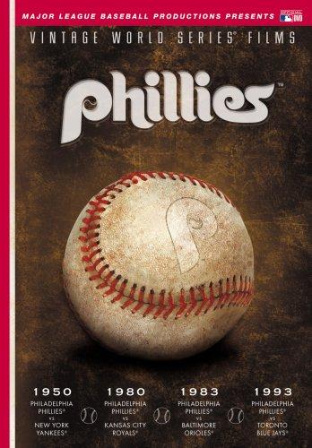 MLB Vintage World Series Films - Philadelphia Phillies 1950, 1980, 1983 & 1993