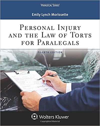 Personal injury and the law of torts for paralegals aspen personal injury and the law of torts for paralegals aspen paralegal 4th edition fandeluxe Image collections