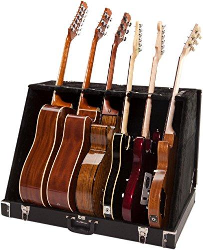 (Road Runner RRGS6 6 Guitar Stand Case Black Tolex)