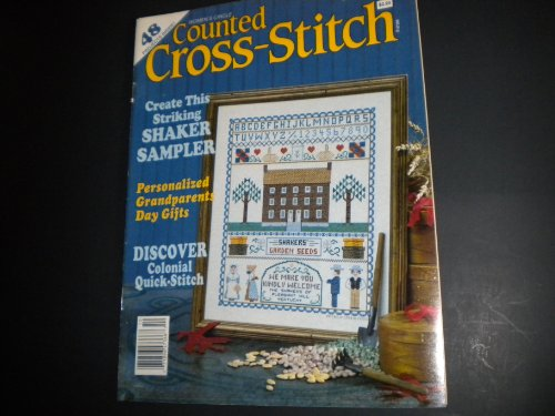 Counted Cross-Stitch October 1989 ()