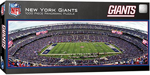 MasterPieces NFL New York Giants 1000 Piece Stadium Panoramic Jigsaw Puzzle