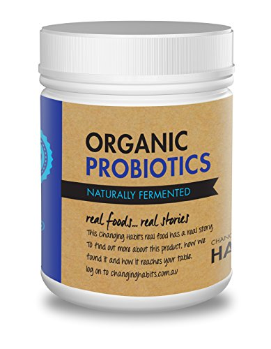 Sprinkle Capsules 60 (Organic Probiotic Powder With Prebiotic Fiber. 60+ Servings! Soothing, Great Tasting Wholefood Vegan Probiotics and Prebiotics For Women, Men and Kids)