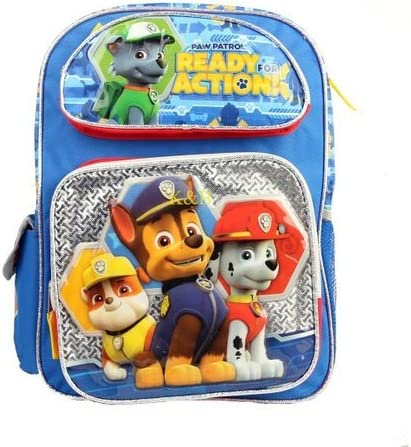 Paw Patrol Ready For Action 16 Large School Backpack