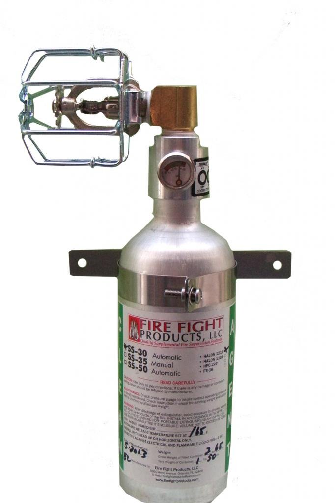 Fire Fight Products - SS30-90-CAG 90 Degree Small-Format Automatic Release Fire Suppression by Fire Fight Products (Image #1)