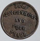 1857 IE U0042 US Token Prince Eduward Island self government & free trade DE PO-01
