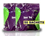TLC Total Life Changes IASO Natural Detox Instant Herbal Tea (50 Sachets) Packaging May Vary Between Old & New in 201