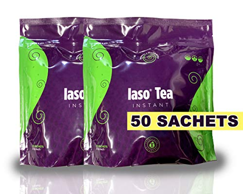 TLC Total Life Changes IASO Natural Detox Instant Herbal Tea (50 Sachets) Packaging May Vary Between Old & New in 201 (Best Herbal Tea For Detox And Weight Loss)