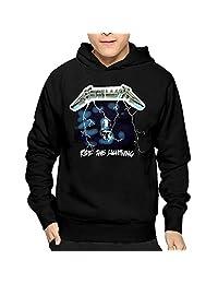 Mens Ride The Lightning Studio Metallica PulloverHoodies Sweatshirts Lightweight