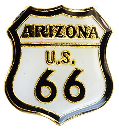 Arizona Route 66 Will Rogers Highway hat or lapel pin AK905 ()