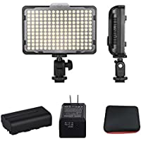 Digital SLR Camera Lighting Kit - Bemaxy 176 Ultra Thin Dimmable Digital Camera Photo/Studio Video LED Light Camcorder Lamp Panel with Color Filters for Nikon, Canon, Panasonic, DSLR Camera