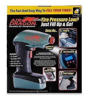 Auténtica aire dragón Handheld portátil compresor Auto ...