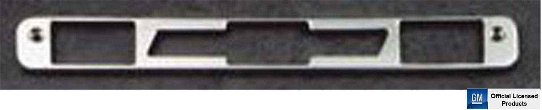 AllSales Mfg, Inc 94000 Brushed Billet Aluminum Third Brake Light Cover-Chevy Bowtie Logo AllSales Mfg.