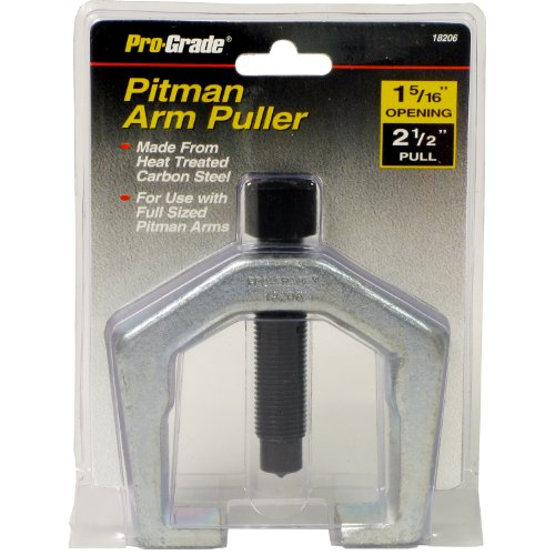 Pitman Replace Arm - Pro-Grade 18206 Pitman Arm Puller, 1-5/16-Inch Opening Size 2-1/2-Inch Full