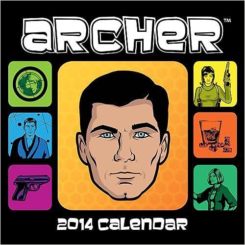 Electronics livres pdf téléchargement gratuit Archer 2014 Calendar PDB by Adam Reid