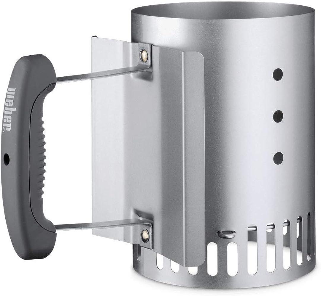 Bbq Starter Weber.7447 Compact Rapidfire Chimney Starter