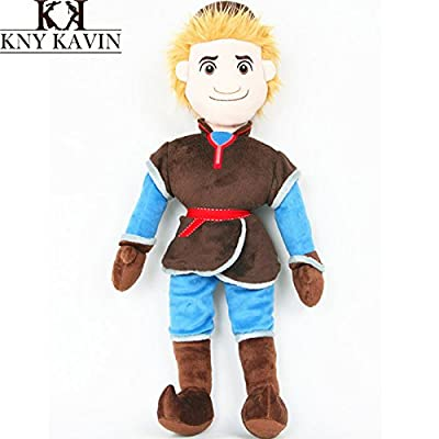 , 2014 new arrival childrens 40cm Princess Plush Classic toys Snow Queen kristoff doll boys Girls Dolls, HT1149: Baby