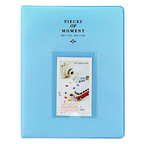 Photo Album for Fuji Instax Mini Prints Holds 128 Photos Ice - Blue New! - Fuji Photo Prints