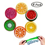 Swallowzy 6PCS Crystal Slime Putty Toy Soft Rubber - Best Reviews Guide