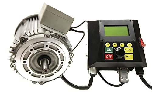 Striatech 53002 1.75 hp 1250W 1000 Base Speed NEMA 56C Flange Mount General Purpose Intelligent Switched Reluctance Motor with Silver Drive and Black (Nema 56c Motors)
