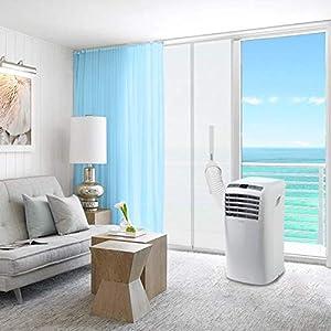 HOOMEE-Tür-und-Fensterabdichtung-für-mobile-Klimageräte-Klimaanlagen-Wäschetrockner Offen
