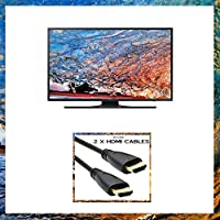 UN75JU6500 FXZA 4K UHD JU6500 Series Smart Class TV – 75 inch un75ju6500 fxza Bundle
