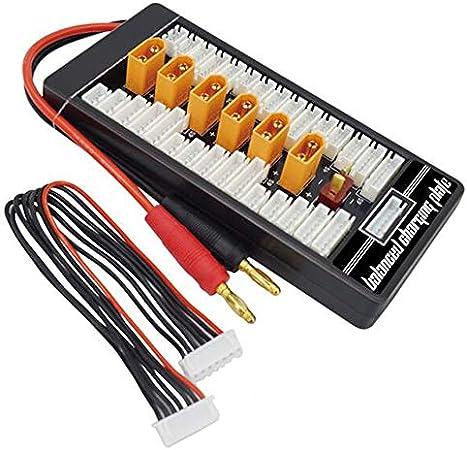 Peanutaor HotRc XT60 2S 6S Plug Lipo Batterie Carte de