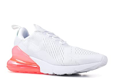 on feet at super popular finest selection Amazon.com | Nike Air Max 270 AH8050-103 White/Hot Punch ...
