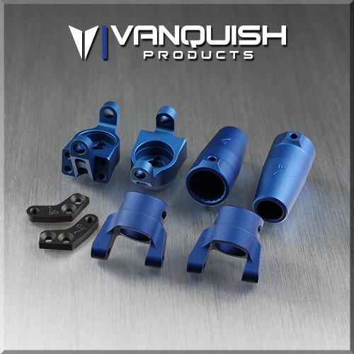 Vanquish Products Axial Wraith Stage One Kit Blue Anodized RR10 Bomber VPS06512 by Tinflyphy