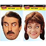 TWIN PACK - Boycie & Marlene - Only Fools and Horses Licensed Character Face Masks