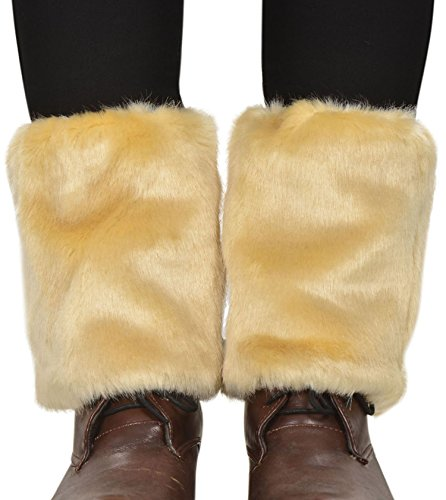 Simplicity Women's Soft Furry Boot Cuff Leg Warmers, 6