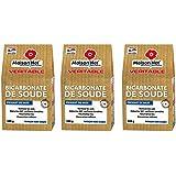 Maison Net Producto de Limpieza Multiuso, Bicarbonato de Sodio - Paquete de 3 unidades ( 3x500 g)