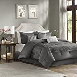 Madison Park MP10-1887 Comforter Set, Gray