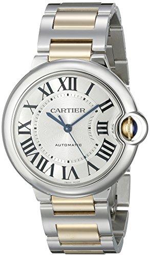 Cartier Men's W6920047 Ballon Bleu Steel and 18kt Gold Watch
