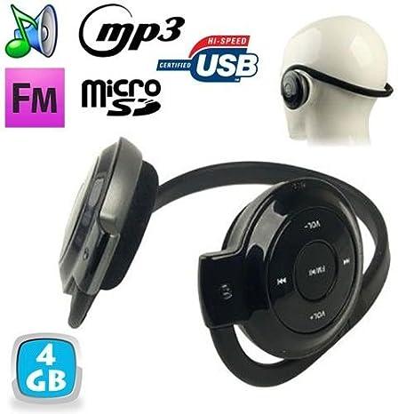 Cuffia Sport Lettore audio MP3 Wireless Radio FM Running 4 GB ... c39defca8498