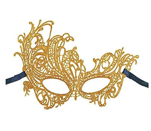 1Pc Party Supplies Halloween Mask Lace Gilding Half Face Sexy Phoenix Mask Party Movie Mask Masquerade -