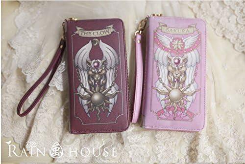 Amazon.com: Cardcaptor Sakura Rojo cartera bolso rojo: Home ...