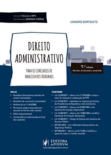 Direito administrativo: Para os concursos de analista dos tribunais
